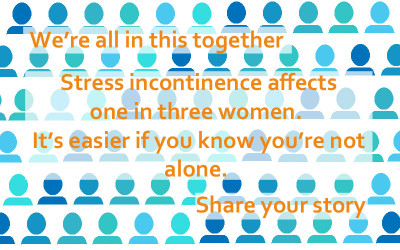 Stress incontinence affects one in three women. You're not alone